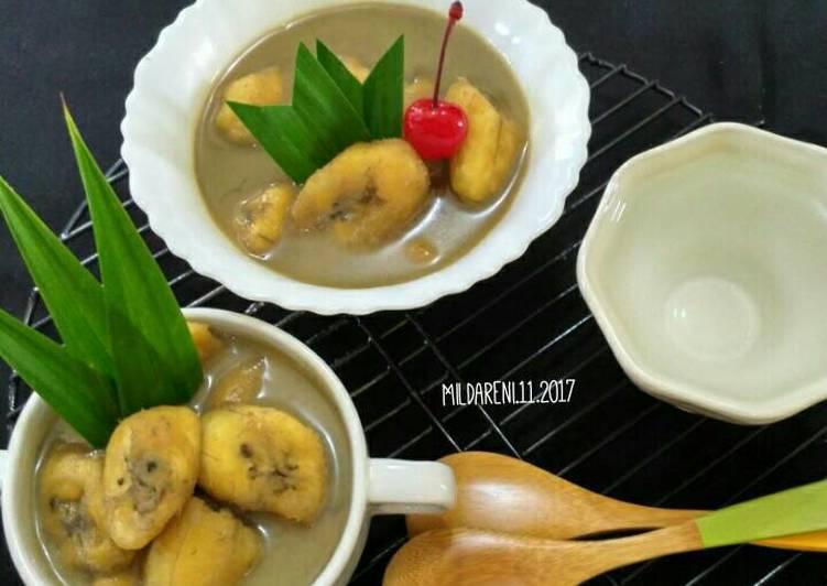 Kolak pisang kepok
