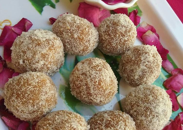 The Meals You Pick To Feed On Will Certainly Effect Your Health Nariyal laddu with besan twist ke sath