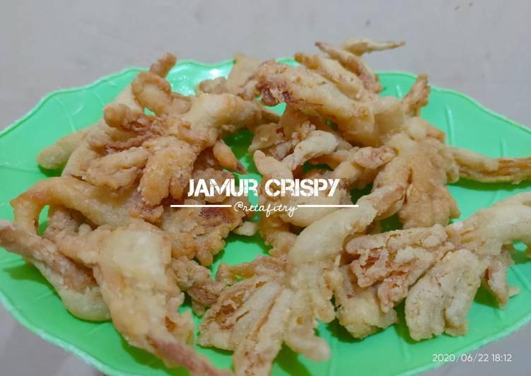 Resep Jamur Crispy (Tahan lama), Enak