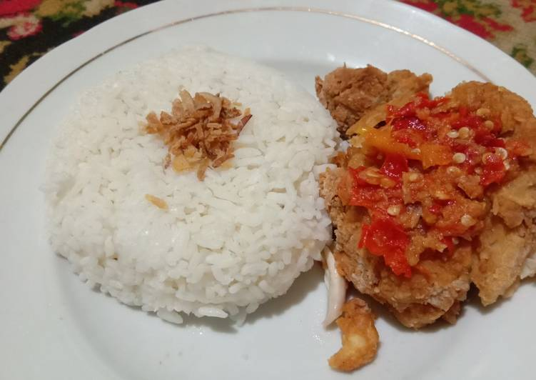 Ayam Geprek ala Ariska