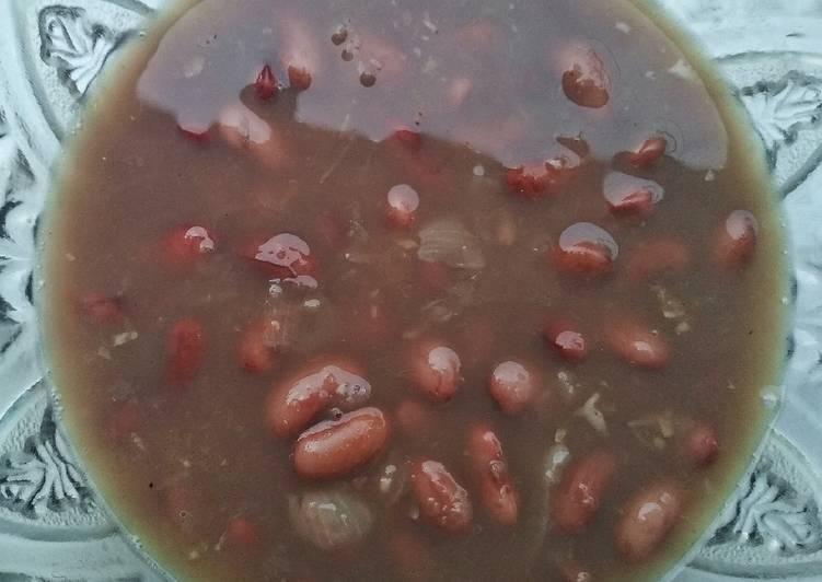 Sup Kacang Merah (Jukut Kacang Barak)