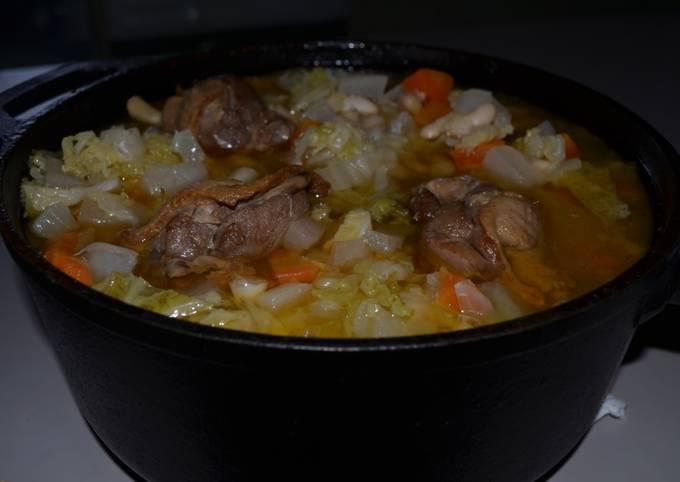 Garbure du sud ouest, la soupe repas