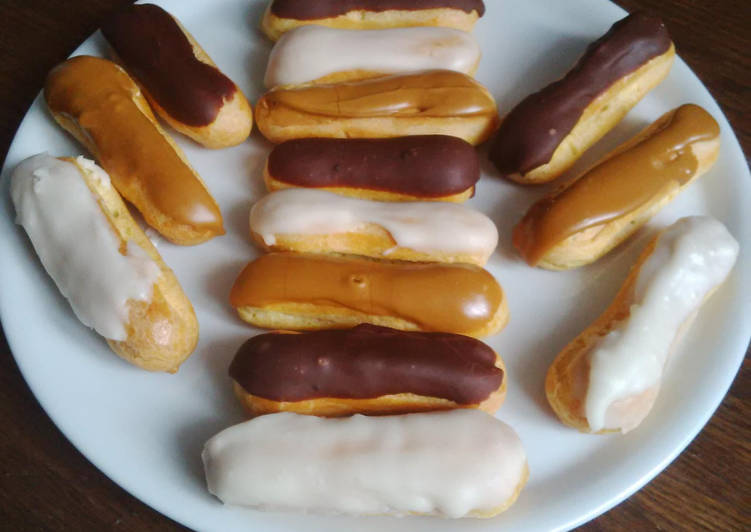 Eclairs à la chantilly