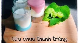 Hình ảnh món Sữa chua từ sữa tươi thanh trùng