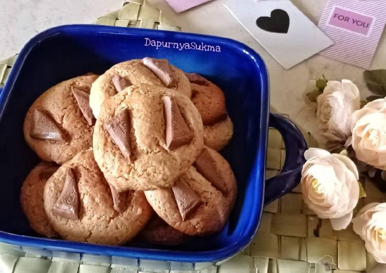 Resep Mudah Giant Cookies
