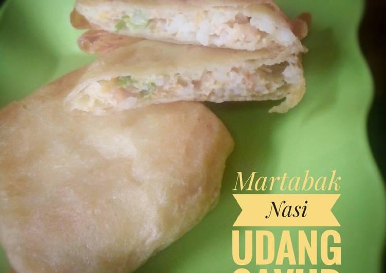 Martabak Nasi Udang Sayur (MPASI 1Y+)