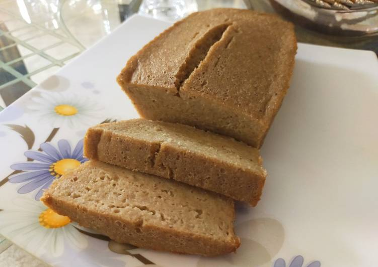 Steps to Prepare Quick GLUTEN-FREE BANANA BREAD (without oven)