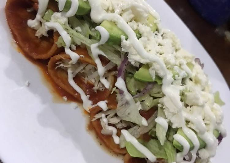 Enchiladas rojas ❤️