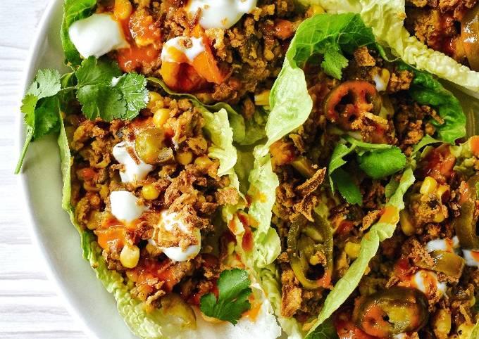 Loaded Lettuce Boat Tacos