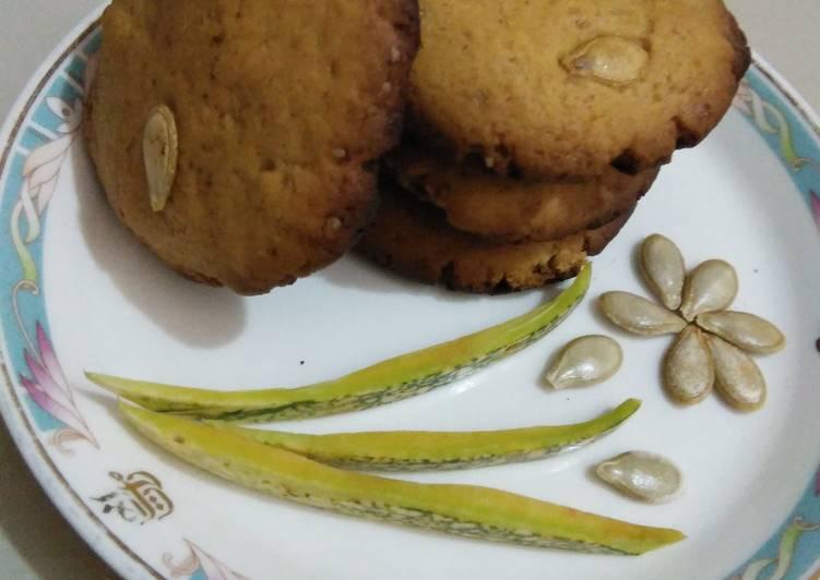 Pumpkin seeds cookies #cookiescontest