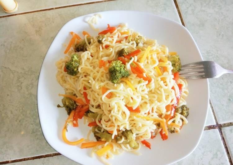Stir- fried noodles