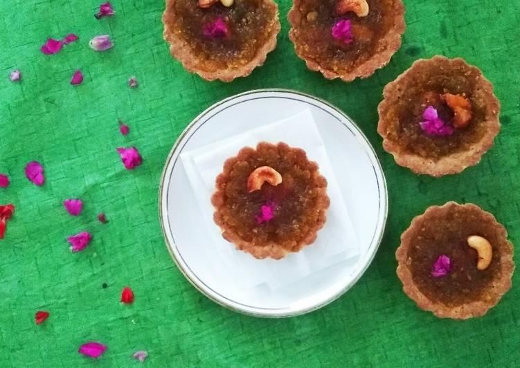 Buckwheat Ash Gourd Halwa Tartlets