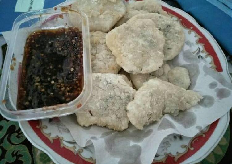 Cireng Nasi Sambal Rujak