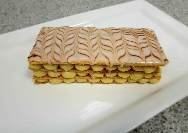 Recipe of Any-night-of-the-week Mille feuille or custard slice