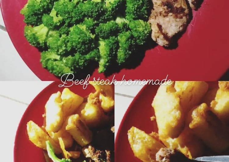 Beef steak teflon