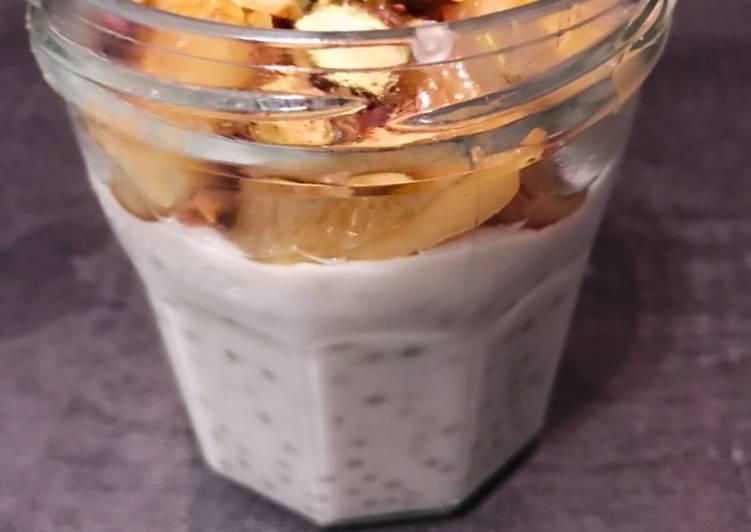 Perle du Japon lait coco banane