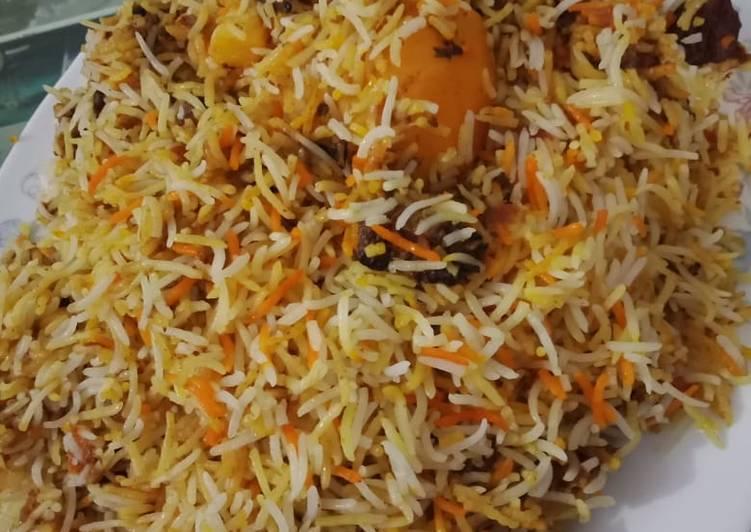 Recipe of Quick Mutton Biryani