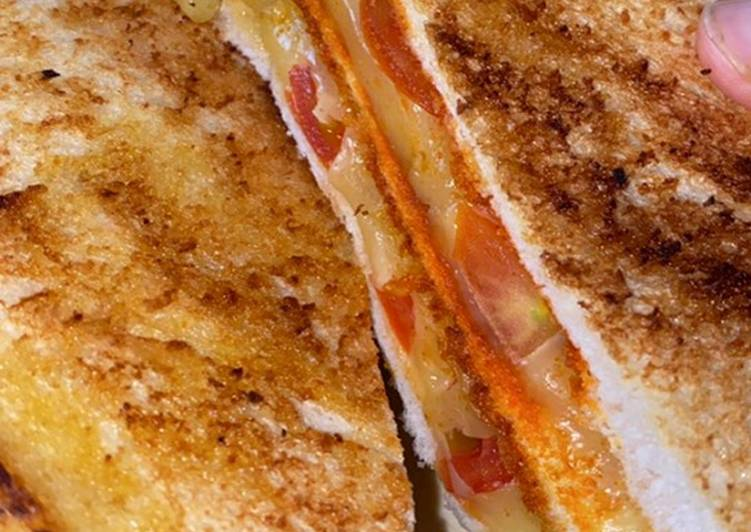 Recipe of Speedy Spicy Grilled Cheese Sandwich