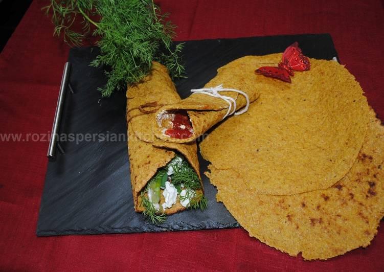 Recipe of Award-winning Flax seed Naan Bread
