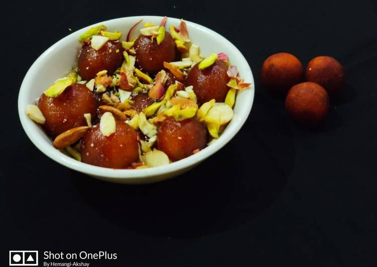 Recipe of Award-winning Khoya Gulab jamun