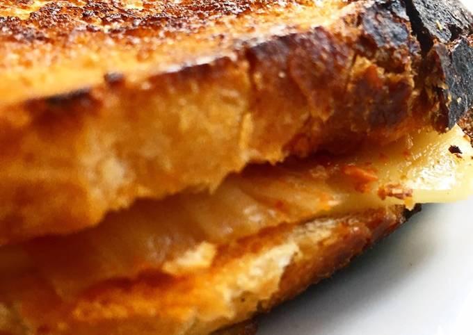 Step-by-Step Guide to Prepare Ultimate Kimchi #Vegan Toastie