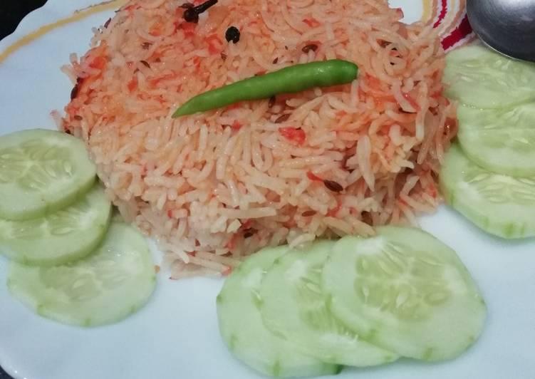 Easiest Way to Prepare Super Quick Homemade Onion Tomato pulao