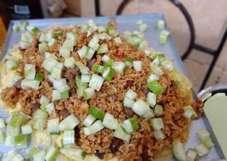 Langkah Mudah Menyiapkan Nasi Goreng Sapi dengan Terasi Sempurna