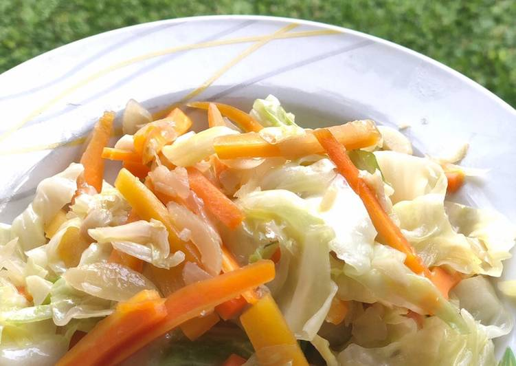Sayur kol wortel