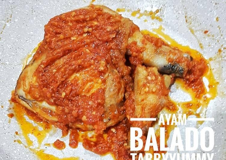 Resep Praktis Ayam Balado Yang Enak