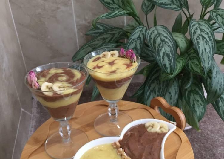موز شکلاتی موز یخی شکلاتی 8
