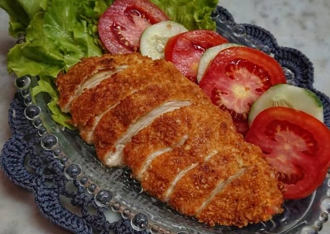 Ayam (fillet) nestum