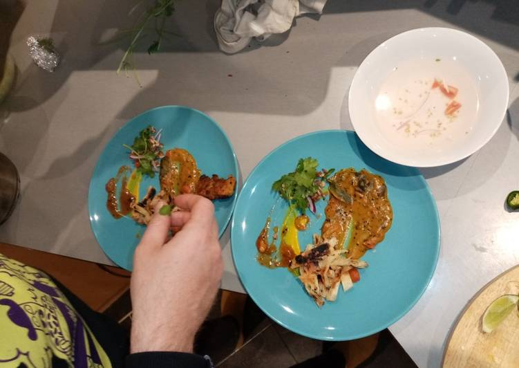 Simple Way to Prepare Favorite Indian channa daal fritter, paratha panzanella