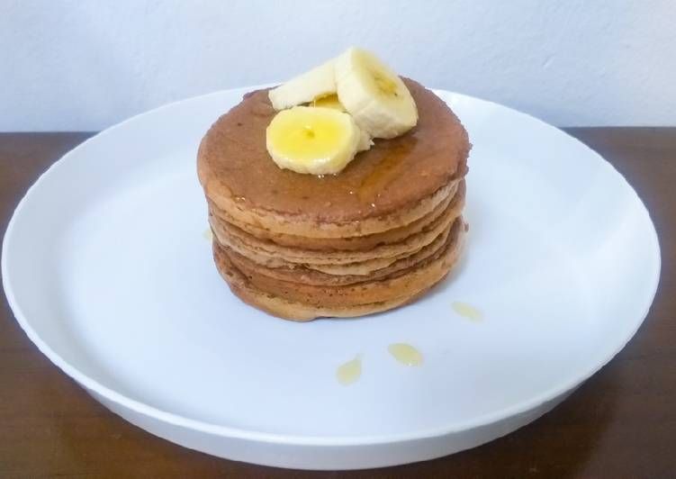 Milo Banana Pancake