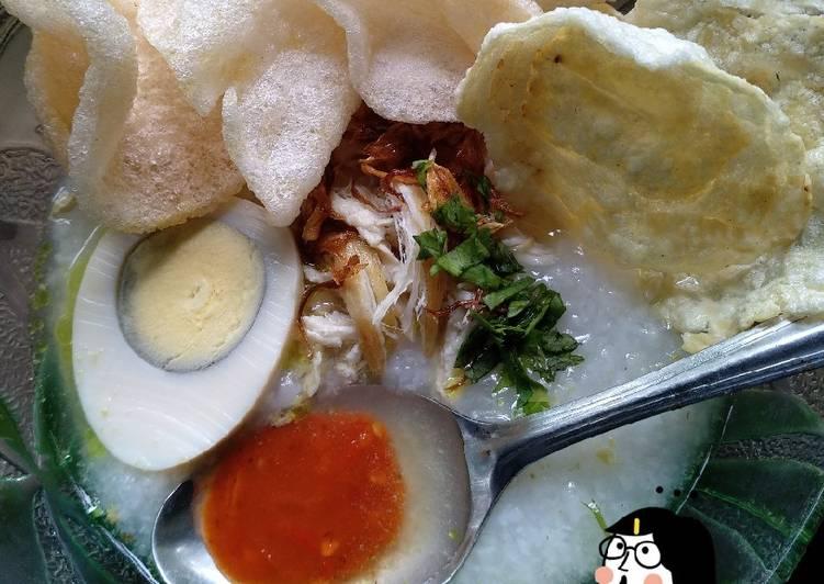 Resep Bubur Ayam Kuah Kuning Oleh Tera Terianti Cookpad