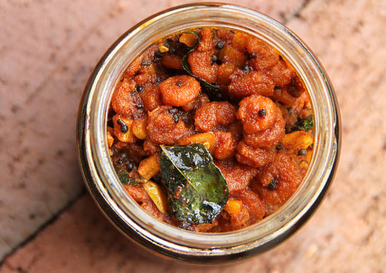 Chemmeen Achar - Kerala Style Prawns Pickle, Helping Your Heart with Food