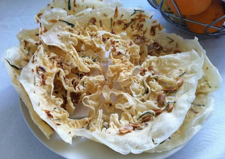 Resep Peyek Kacang Udang Rebon oleh Fitri Sasmaya - Cookpad