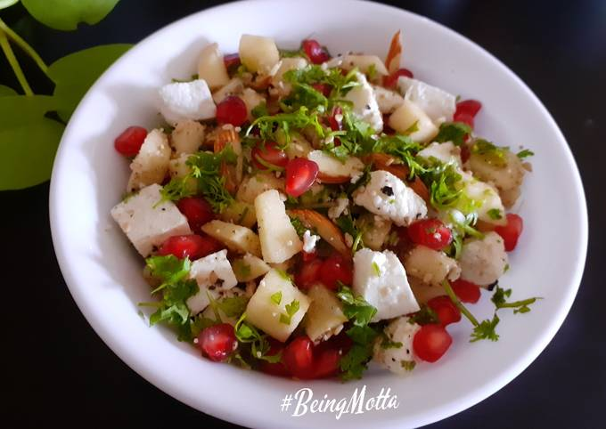 Paneer-Apple Nutritious Salad