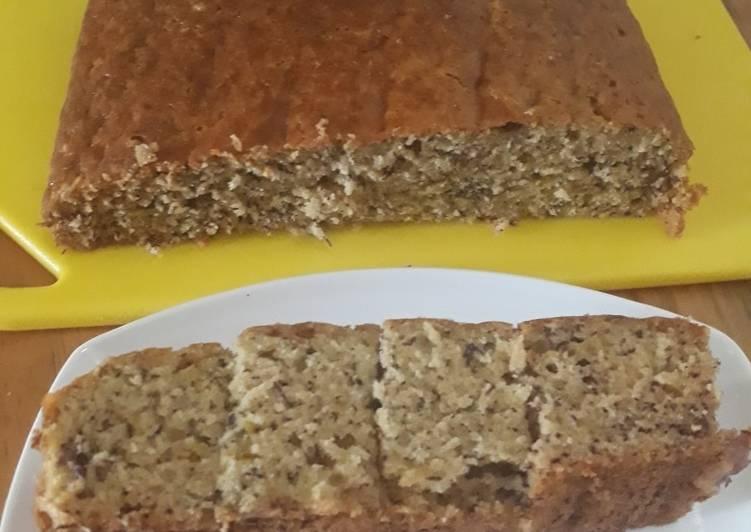 resep masak Bolu pisang 1 telur tanpa mixer - Sajian Dapur Bunda