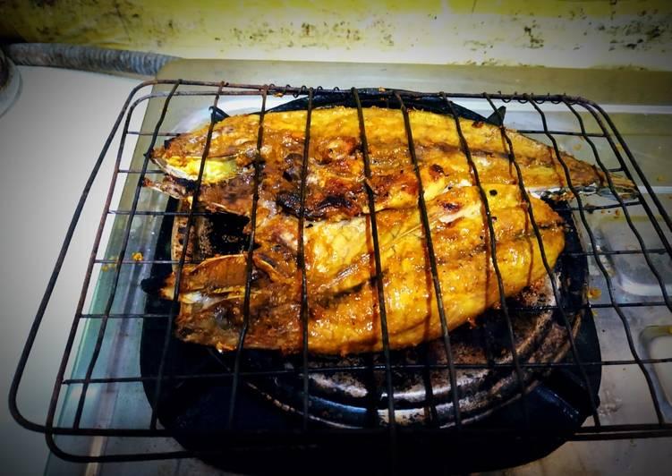 Ikan Bakar Kuning