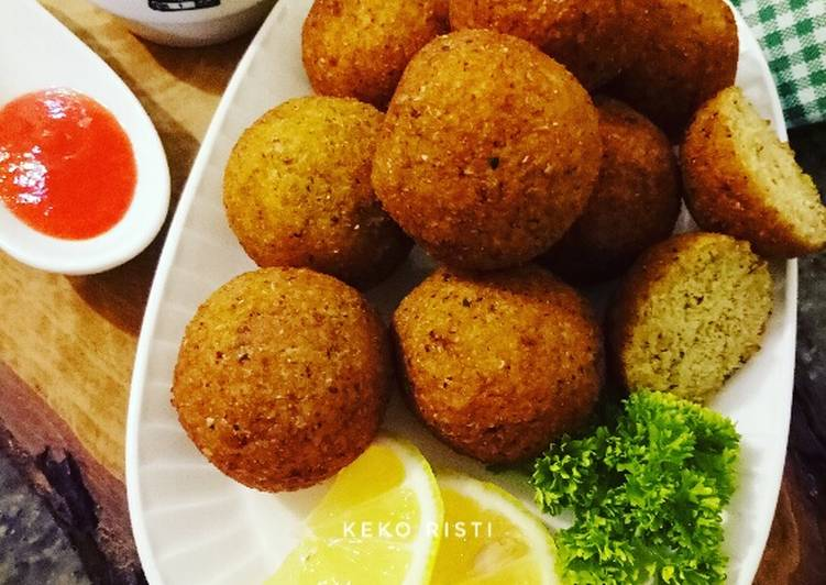 Chickpea Falafel || Arabian Snack