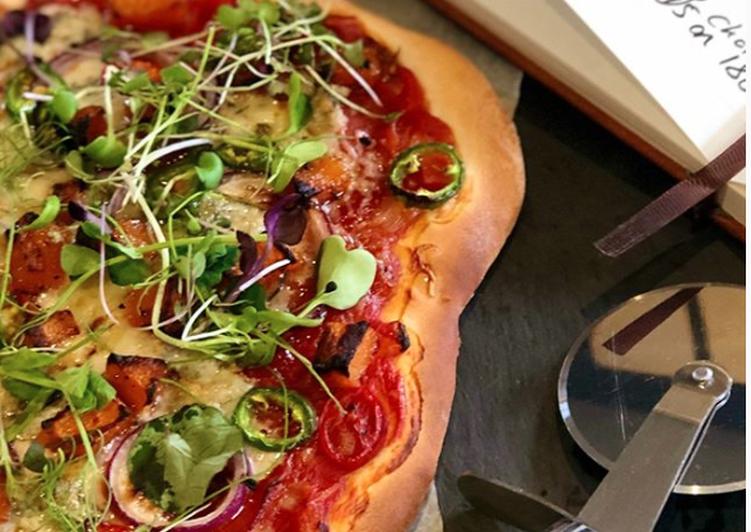 Recipe of Speedy The No Yeast Pizza