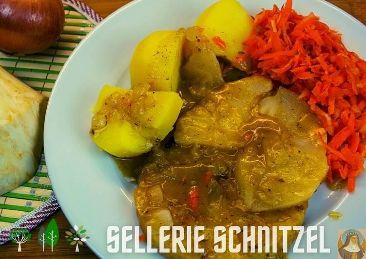 SELLERIE SCHNITZEL - Hildegard von Bingen