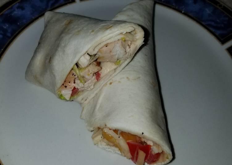 Chicken Ranch wraps 🌯