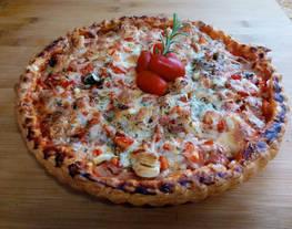 HOJALDRE-PIZZA -Entre pizza y empanada-