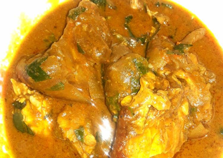 Easiest Way to Make Any-night-of-the-week Banga soup