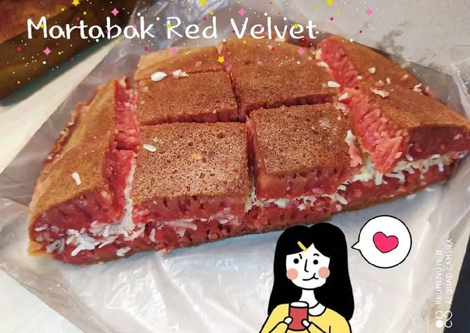 Langkah Mudah Menyiapkan Martabak Red Velvet Teflon Anti Gagal