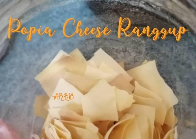Popia Cheese Rangup - resepipouler.com