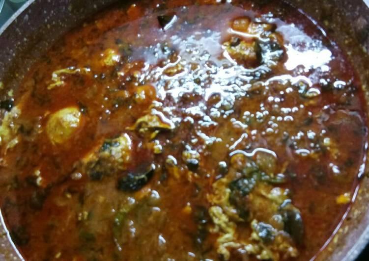 Recipe of Most Popular Egg drop curry