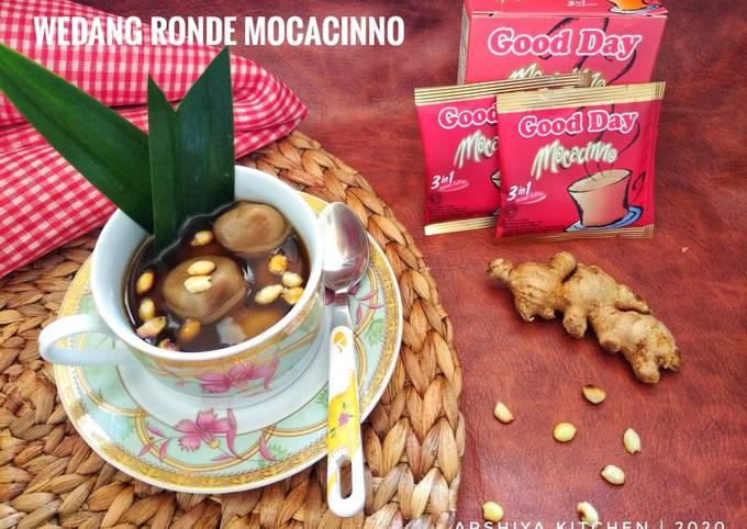 Wedang Ronde Mocacinno tabur Kacang