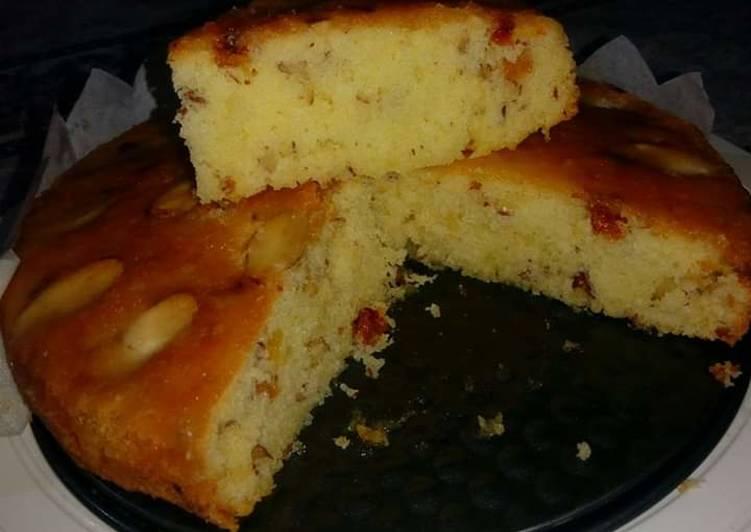Recipe of Speedy Rich Almond CAKE #foodies&friends I love MEETHA